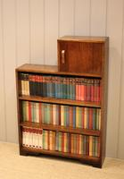 1930s Oak Open Bookcase