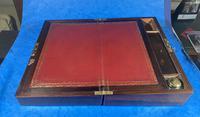 William IV Rosewood & Mother of Pearl Writing Slope (13 of 14)