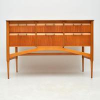 1950's Vintage Satinwood Sideboard (2 of 11)