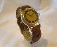 Vintage Tissot (omega) Jubileum Wrist Watch 1953 16 Jewel Stainless Steel Case Fwo (3 of 12)
