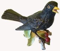 Porcelain Blackbird by Goebel of Germany (3 of 6)