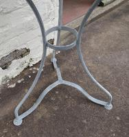 French Iron & Marble Bistro Table Mid 19th Century (11 of 12)
