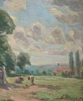 William Francis Burchell Exhibited Impressionist Oil Painting (9 of 12)