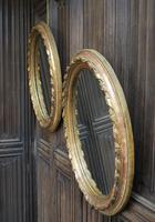 Pair of Gilt French Oval Mirrors (7 of 7)