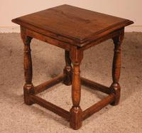 French Stool in Oak - 17th Century (2 of 10)