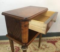 Vintage French Mahogany Cabinets Bedside Tables (3 of 14)