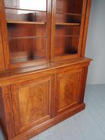 Antique George IV Mahogany 2 Door Cabinet Bookcase (5 of 13)