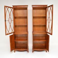 Pair of Antique Mahogany Waring & Gillows Bookcases (6 of 9)