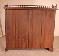 Fine Open Bookcase in Mahogany Early 19th Century - England (8 of 11)