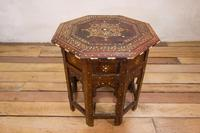 Late 19th Century Indian Hoshiarpur Occasional Octagonal Table (14 of 15)