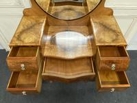 Quality Burr Walnut Dressing Table (13 of 22)