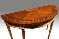 Fine Quality Early 20th Century Satinwood Pier Table (5 of 8)