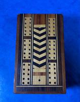 Victorian Inlaid Mahogany Crib  Box (9 of 20)