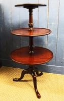 18th Century Georgian Mahogany Dumbwaiter. Dining Room Serving table
