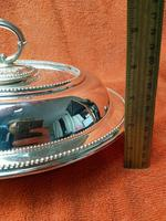 Antique Sheffield Silver Plate Lee & Wigfull  Serving Tureen Dish & Lid C1870s (4 of 11)
