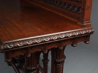 Carved Oak Serving Table Attributed to Pugin (8 of 17)