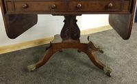 Antique Regency Mahogany Sofa Table (13 of 13)