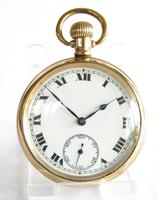 Antique 1920s Record Stem Winding Pocket Watch (2 of 6)