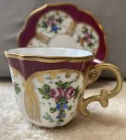 Limoges, France Hand Painted Cup & Saucer (4 of 6)
