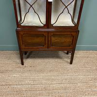 Spectacular Edwardian Chippendale Design Antique Display Cabinet (9 of 9)