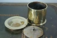Victorian Brass Tobacco Box & Tamper c.1905 (2 of 4)