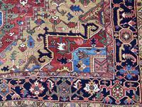 Antique Heriz Carpet 3.20m x 2.37m (3 of 10)