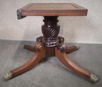 Regency Mahogany Breakfast Table / Dining Table - Seats Eight (8 of 12)