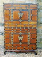 Chinese Elm Marriage Cabinet Circa 1900 (5 of 12)