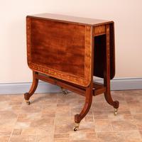 Inlaid Mahogany Edwardian Sutherland Table (6 of 19)