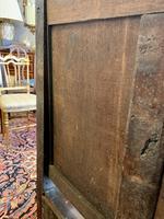 Late 18th Century Box Seated Oak Settle (17 of 19)