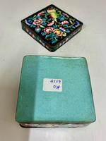 Antique Oriental Cloisonné Enamel Box c.1890 (8 of 8)