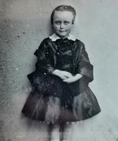 Victorian Cased Ambrotype Photograph, Boy in a Dress (7 of 7)