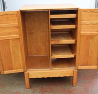 1940s Well Fitted Cherry Wood Cabinet with Slides (2 of 3)