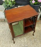 Lovely Victorian Mahogany Shop Display Cabinet (3 of 7)