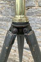 Antique Broadhurst Clarkson & Co Brass Telescope on Tripod (14 of 14)