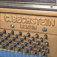 Mahogany Upright Piano by Bechstein, Berlin (12 of 14)