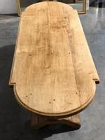 Large Oak Farmhouse Table with Extensions (12 of 30)