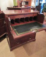 Small George III Period Military Secretaire Chest (7 of 9)