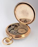 Antique 1920s Record Stem Winding Pocket Watch (3 of 5)