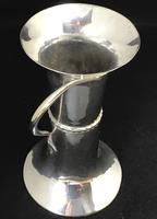 Art Nouveau Silver Plated Vase by George Wish & Son Sheffield (6 of 7)