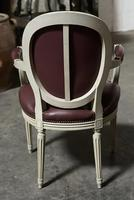 Set of 8 French Dining Chairs Lovely Original Finish (10 of 18)