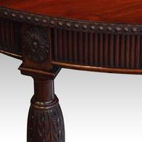 Edwardian Mahogany Oval Occasional Table (3 of 7)