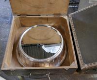 Large Vintage Mirror Top Elkington Silver Plate Wedding Cake Stand (7 of 8)