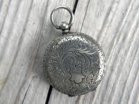 Antique Swiss Silver Women's Pocket Watch, Fancy Case, Fully Hallmarked c.1900 (9 of 10)