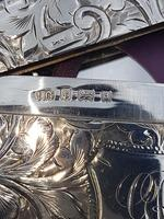 Solid Silver Curved Card Case (3 of 4)