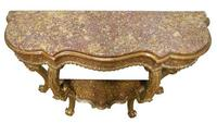 Italian carved giltwood console table c1770 (3 of 7)
