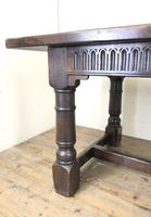 Large Antique Oak Refectory Table (3 of 9)