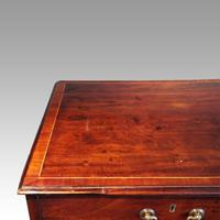 George III Cross Banded Mahogany Chest (5 of 7)