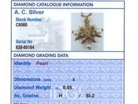 Pearl, Diamond & 21ct Yellow Gold Pendant - Antique c.1890 (7 of 9)