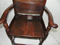 Early Welsh Oak Waincot Chair (2 of 12)